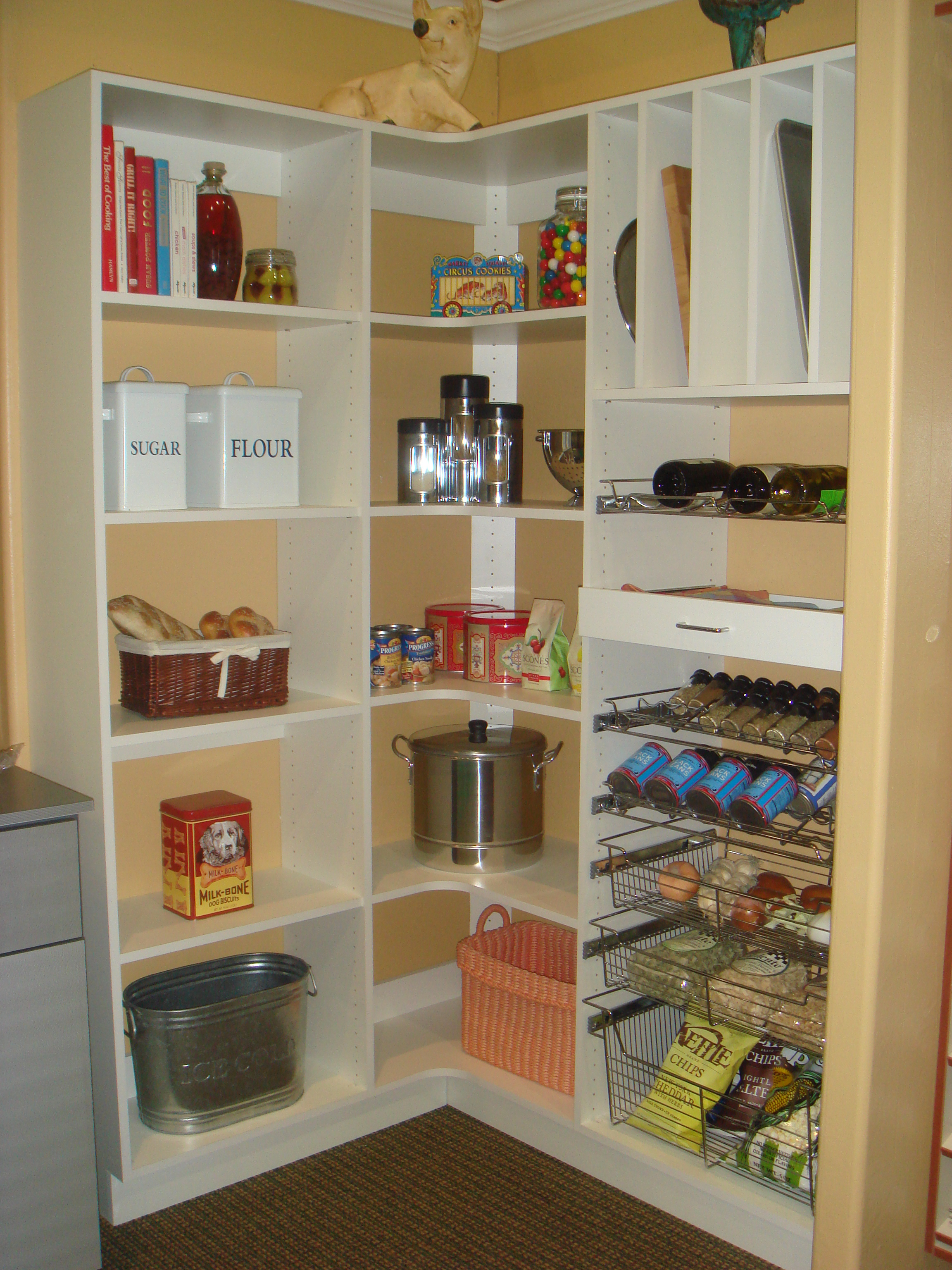 Pantries By Closet Trends