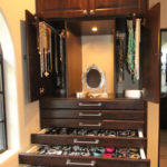 Custom Designed Mega Jewelry Organizer Cabinet