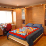 Quilter's Craft Room with Queen Size Wall Bed