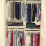 Basic Wall Closet with Double Hang