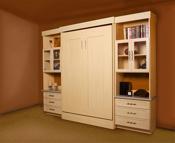Wall Bed Solutions for Closet Trends Custom Closets Cabinetry