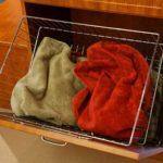 Chrome Tilt-out Laundry Hamper Basket